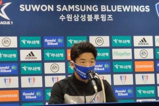 """""""모든 팀에게 지고 싶지 않다""""…2연승의 주역 수원삼성 김민우"""