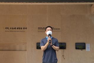 광화문 광장 떠나는 '세월호 기억공간'…추모 기념물, 서울시의회로 이전