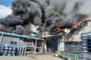 인천 서구 자동차부품 공장서 화재...1시간 만에 진압
