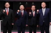 尹-洪 '도덕성 난타'·劉-元 '정책 대결'…180도 달랐다