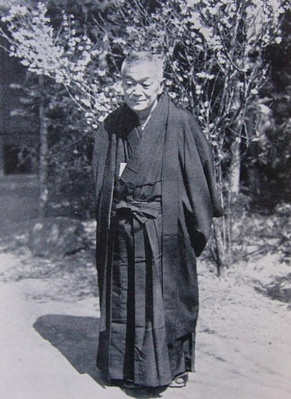 나이토 토라지오. 도쿄대학파에 맞서 교토대학파를 이끌면서 야마대국이 큐슈에 있었다고 주장했다.