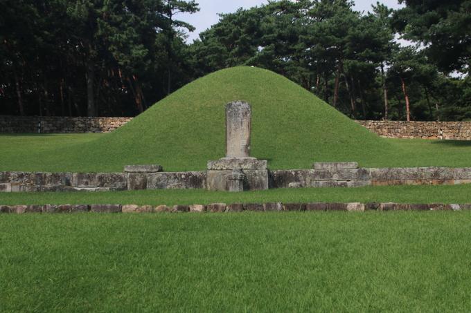 김해에 있는 김수로왕과 허황후의 합장릉
