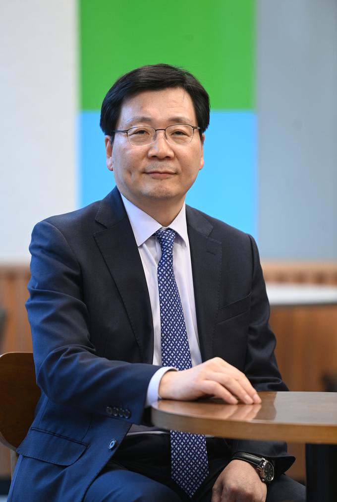 김형석 남북사회통합연구원 이사장. (사진=조병석 기자)